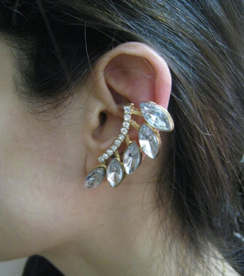Image of Crystal Cluster Ear Cuff (More Colors)