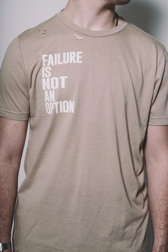 Image of Failure  Tee Beige