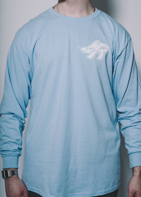 Image of Anti-In Crowd Tee Powder Blue