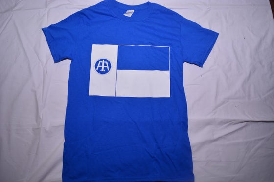 Image of Blue Texas Flag Tee