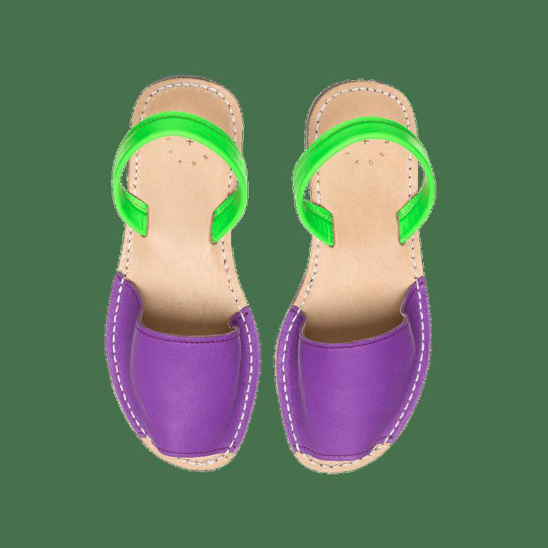 Image of Purple + Lime