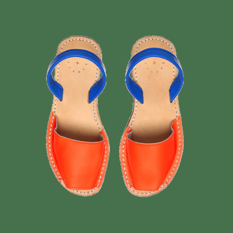 Image of Orange + Blue