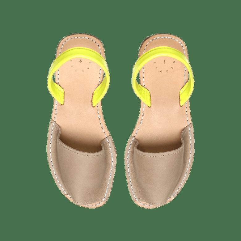 Image of Tan + Yellow