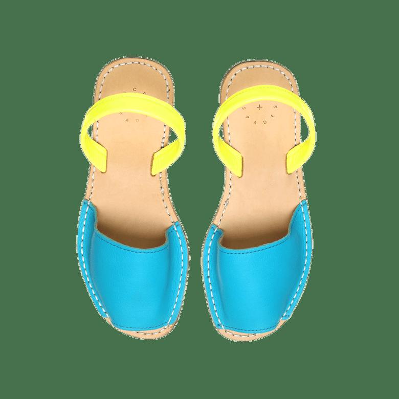 Image of Aqua + Yellow