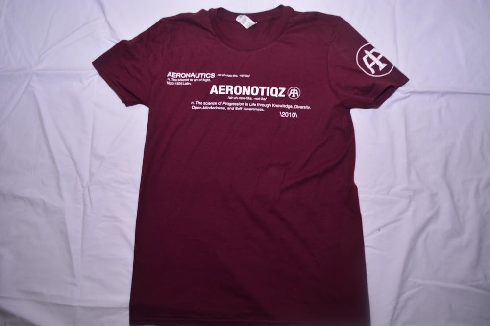 Image of Maroon Definition Tee