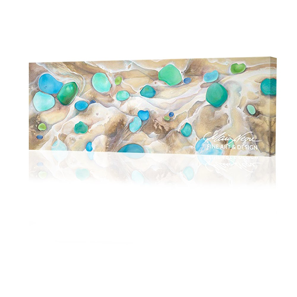 Image of Seaglass and Foam Giclee Print