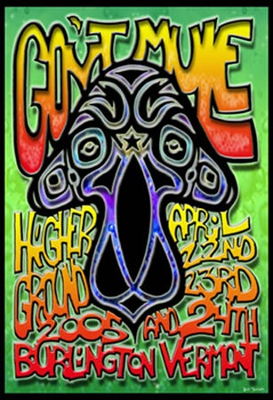 Image of Gov't Mule Vermont 2005 Poster