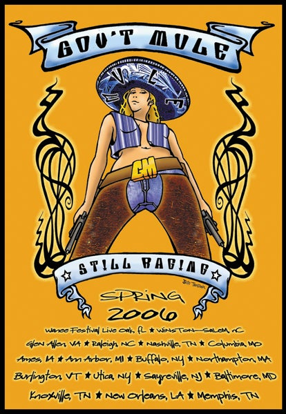Image of Gov't Mule Spring Tour 2006