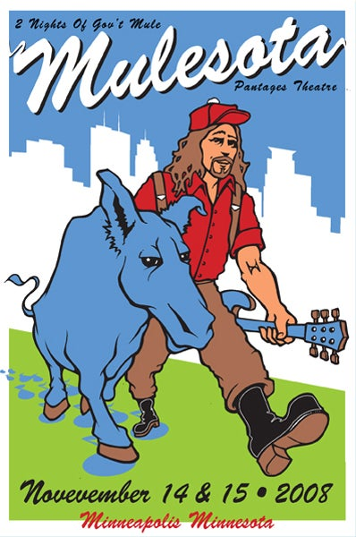 Image of Gov't Mule - MuleSota 2008