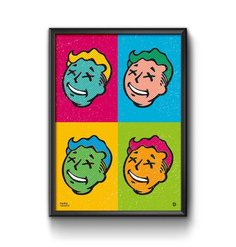 Image of Pop Boy Print