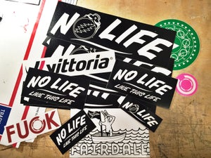 Image of No Life sticker pack!
