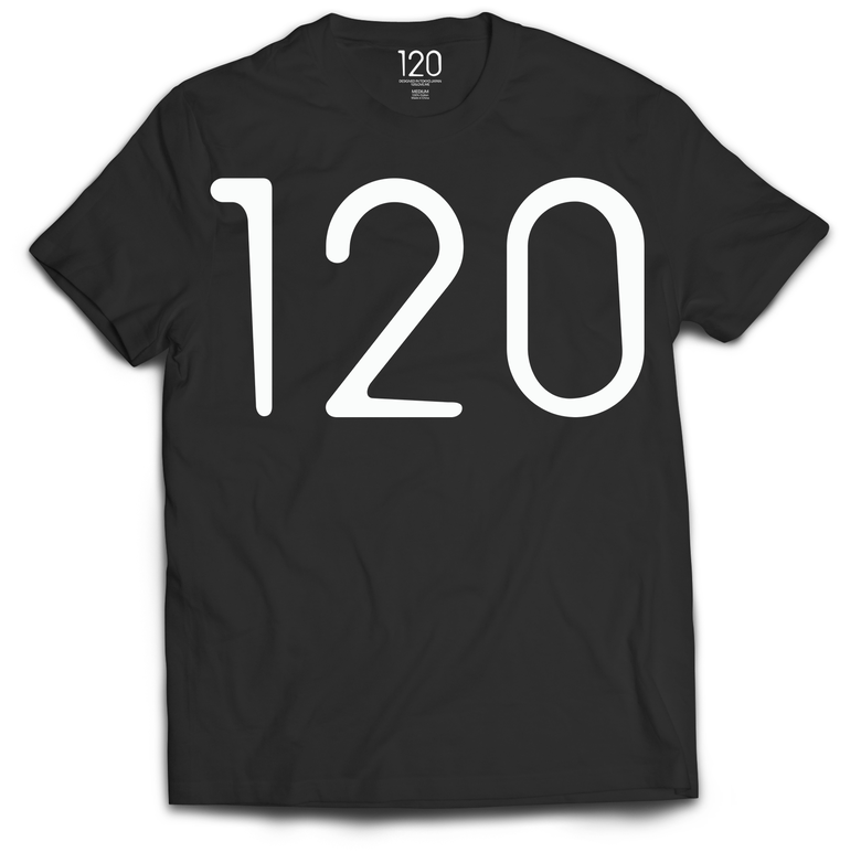 Image of 120 LOVE - Basic logo T-shirt