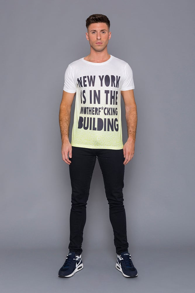 Image of New York Is In The Motherf*cking Building Unisex T-Shirt