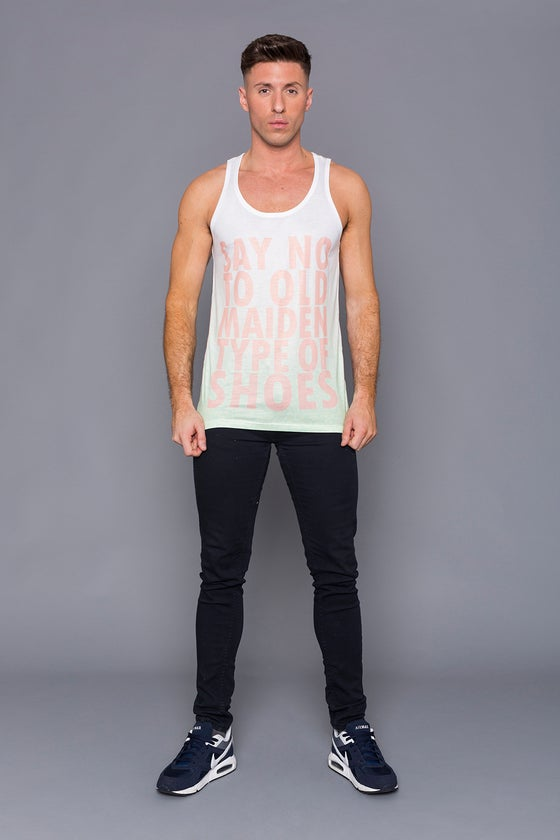 Image of Say No To Old Maiden Type Of Shoes Unisex Vest