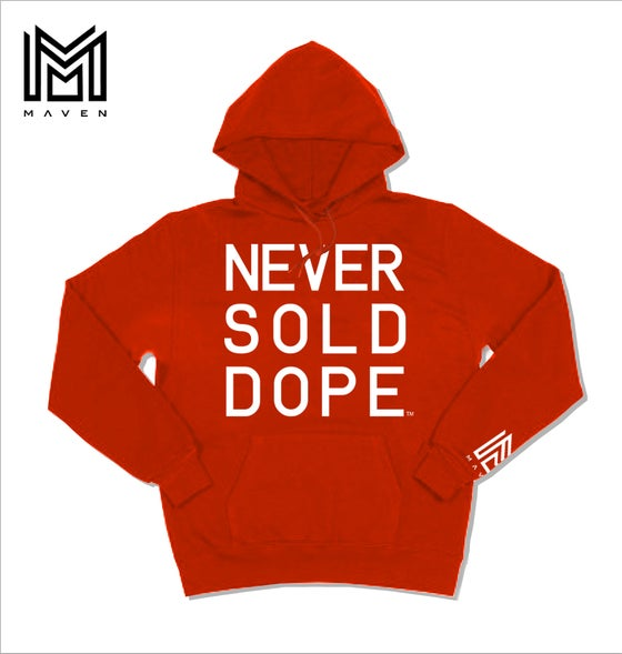 "Image of Maven Brand NSD 2018 ""R.E.D"" Hoodie"