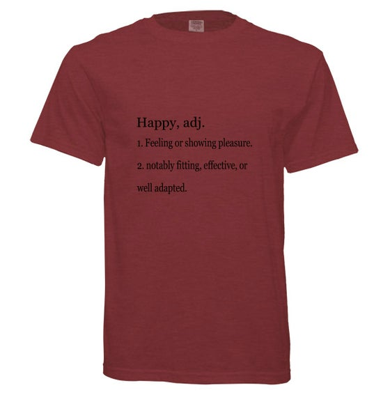 Image of Definition of Happiness Short Sleeve Shirt