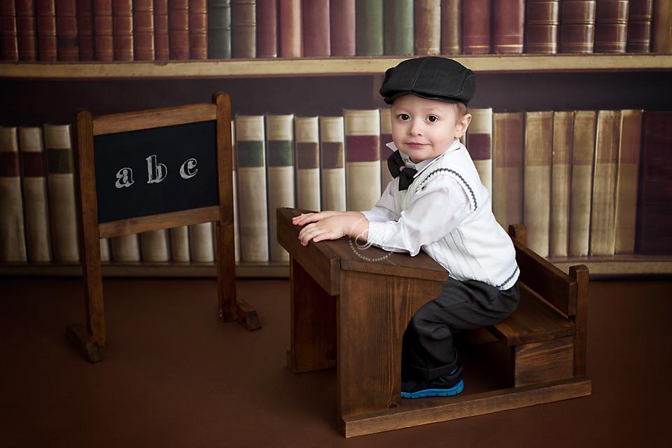 Tiny Dreams Solid Wood School Desk Newborn Baby