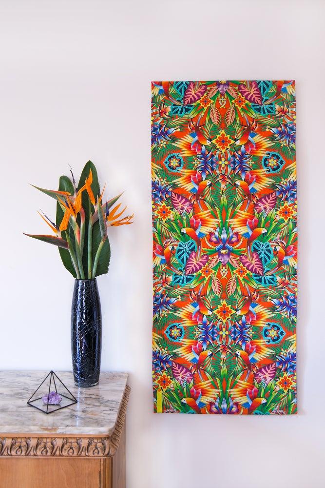 Image of Guacamaya Textile Panel