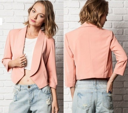 Image of Petunia  Blush Blazer