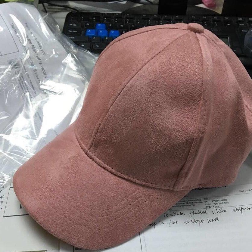 Image of PINK / SUEDE CAP