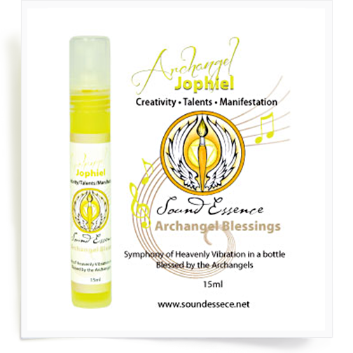 Image of Angel Blessing Spray for Archangel Jophiel 60ml/15ml