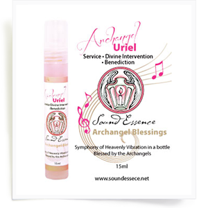 Image of Angel Blessing Spray for Archangel Uriel 60ml/15ml