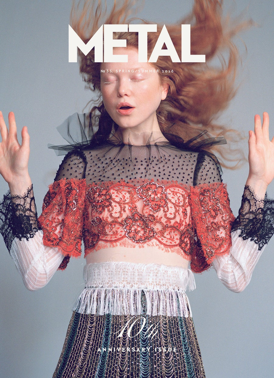 Image of METAL 35 SPRING/SUMMER 2016 | COVER 2