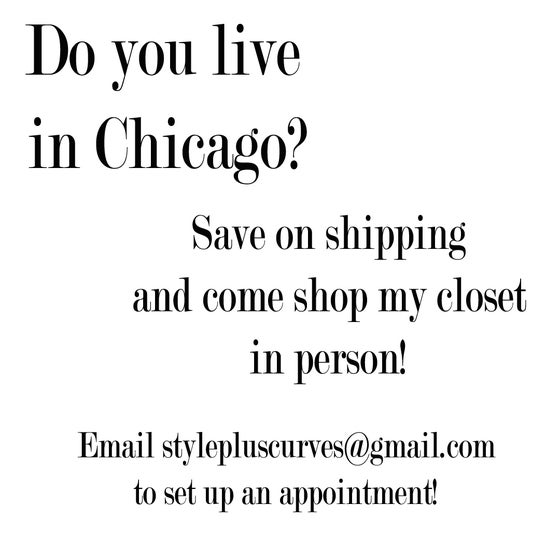 Image of Chicago Locals - Shop my closet in person!