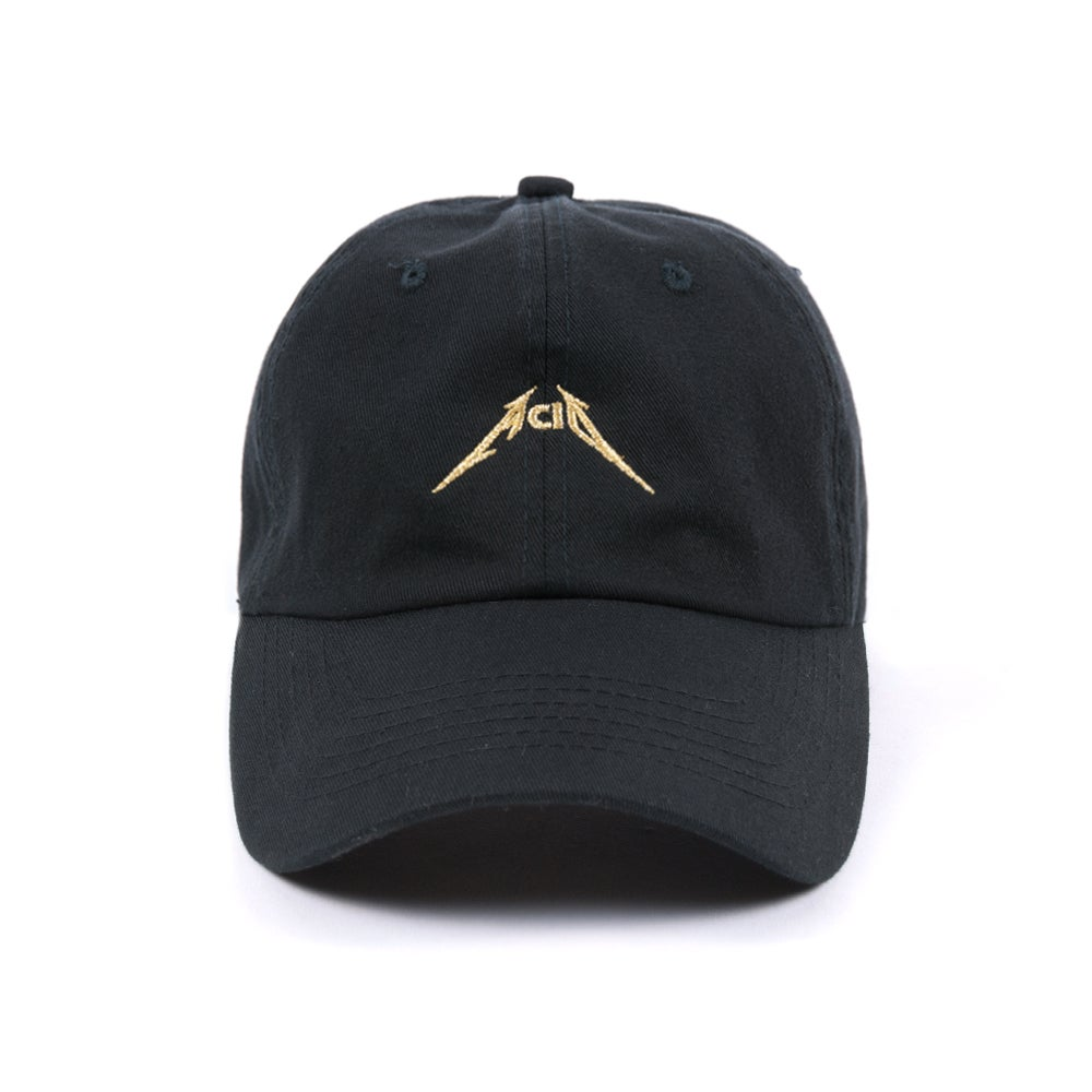 Image of  Acid Low Profile Sports Cap - Gold