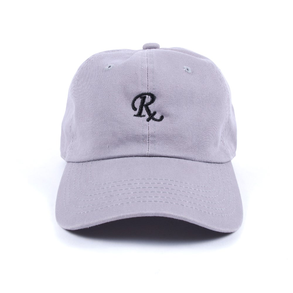 Image of  RX Low Profile Sports Cap - Grey