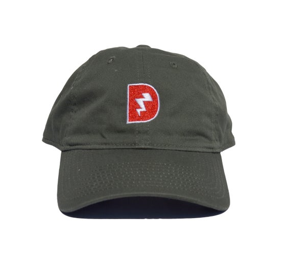 Image of Signature D Dad Hat - Olive
