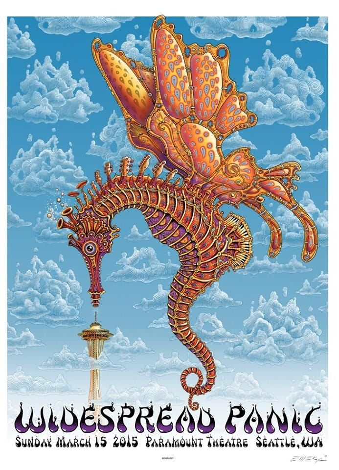 "Image of WideSpread Panic ""Seahorse Butterfly"" by EMEK"