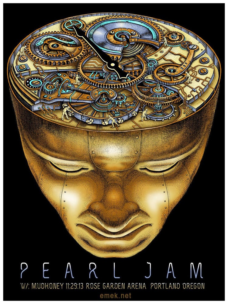 "Image of Pearl Jam ""Doomsday Clock"" by EMEK"