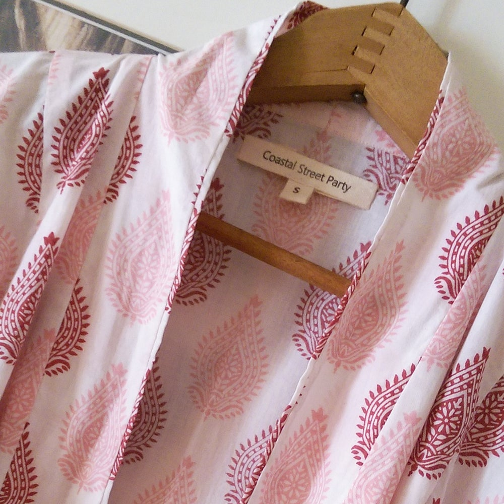 Image of Asher Robe in Pink