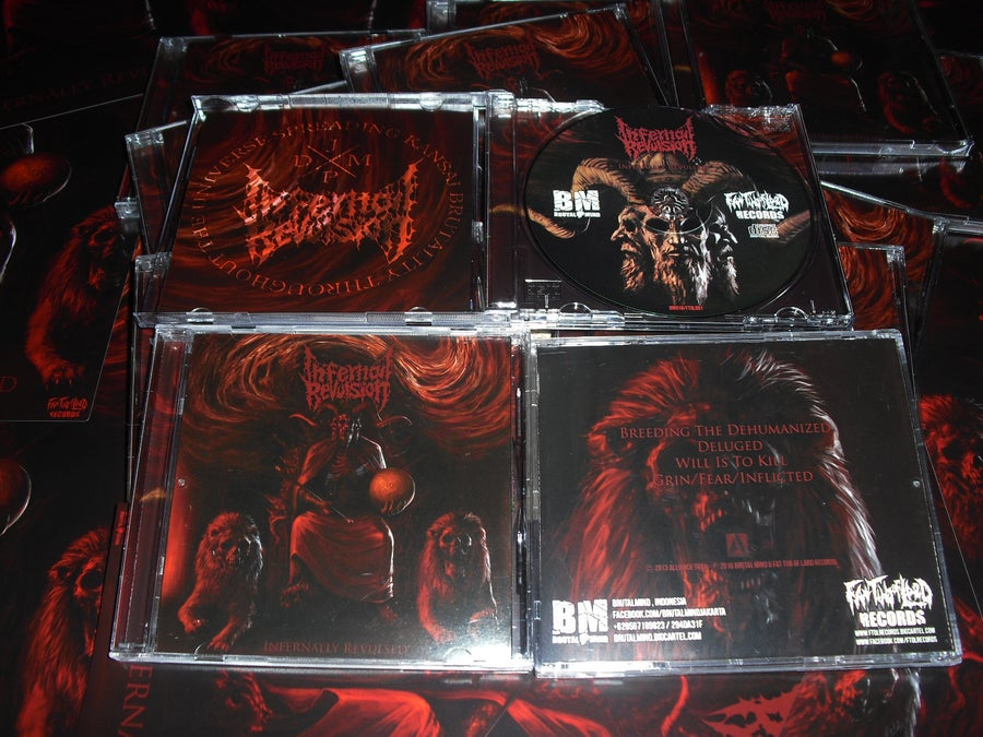 "Image of Infernal Revulsion - Infernally Revulsed ""MCD , Jewelcase version"""