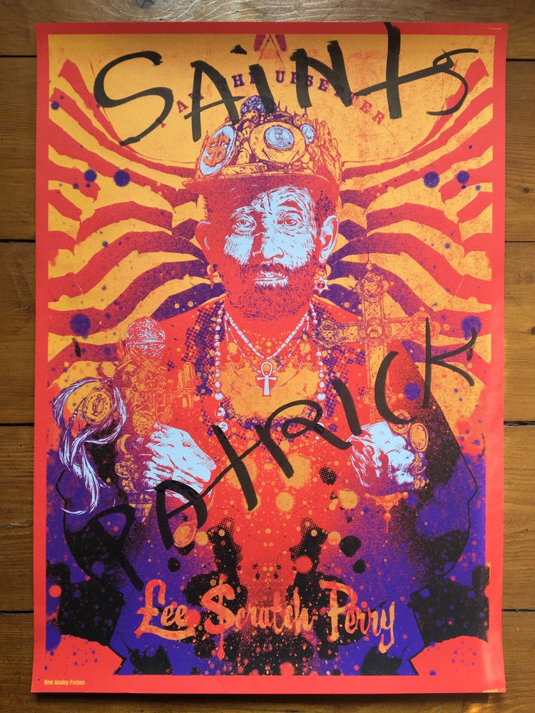 Image of Lee Scratch Perry - Saints Patrick