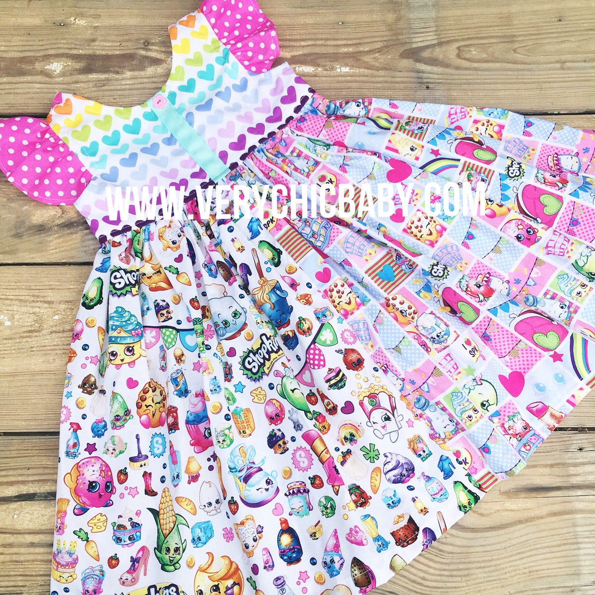 Image of Shopkins Flutter Dress