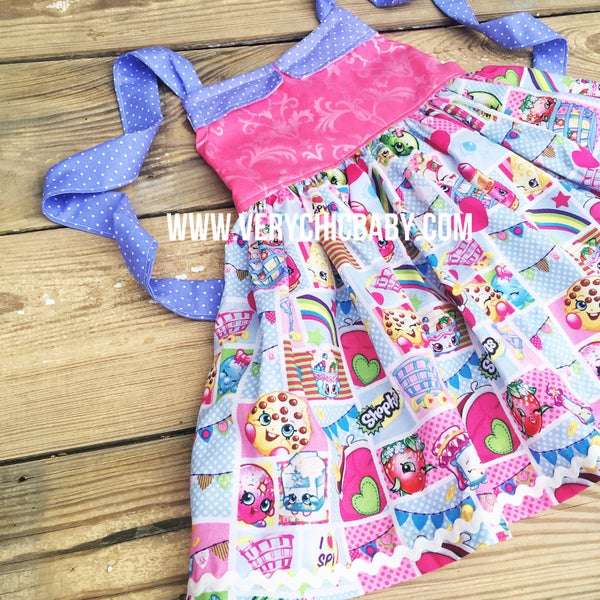 Image of Shopkins Reverse Knot Dress