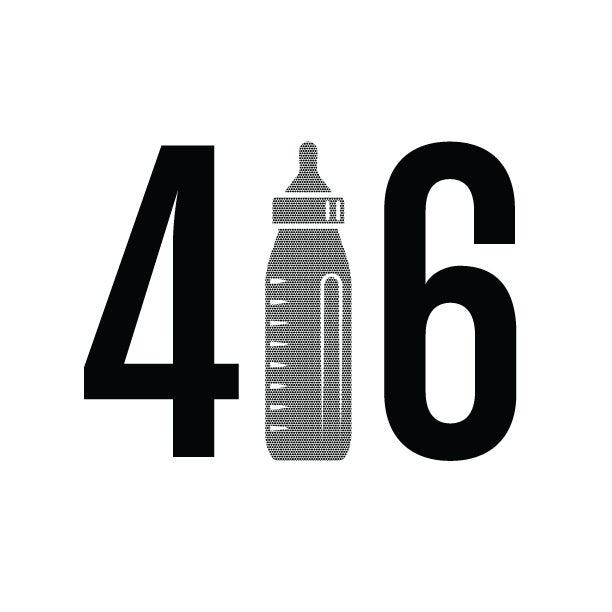 "Image of ""416"" White T-Shirt"