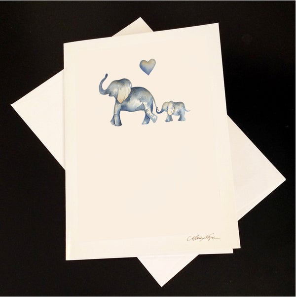 Image of Mother & Baby 5-Pack Greeting Card Set