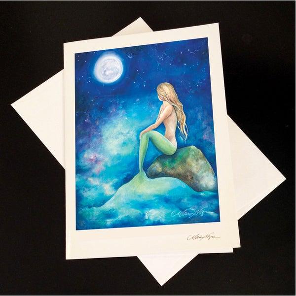 Image of Mermaid 8 5-Pack Greeting Card Set