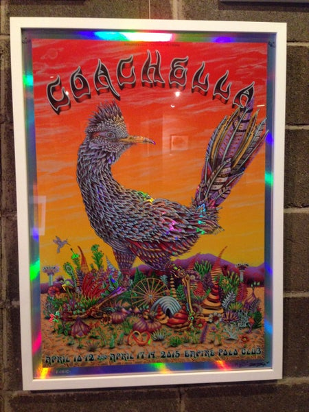 Image of Coachella Roadrunner Sunset Foil by EMEK