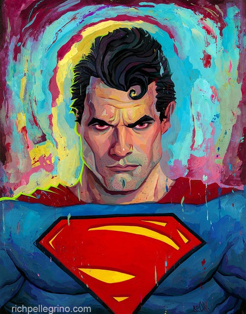 Image of Superman 11x14 Print