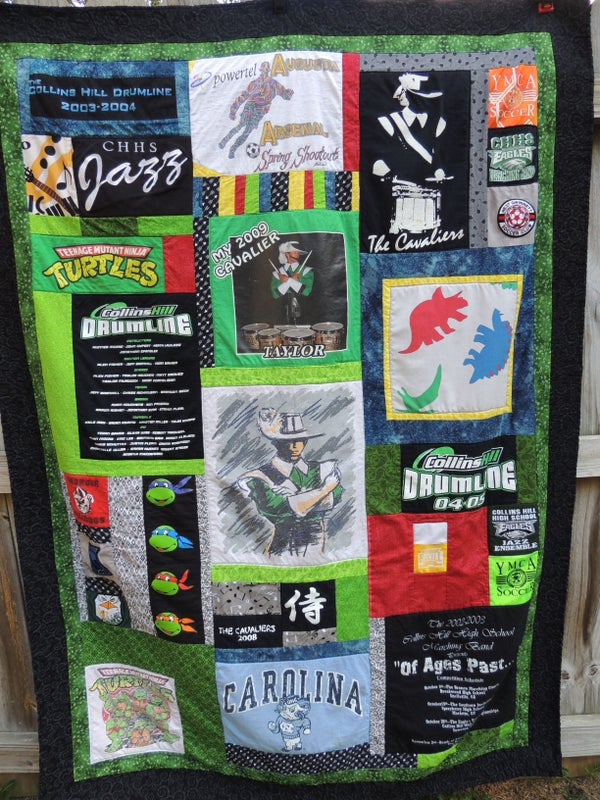 Image of T-shirt Quilt