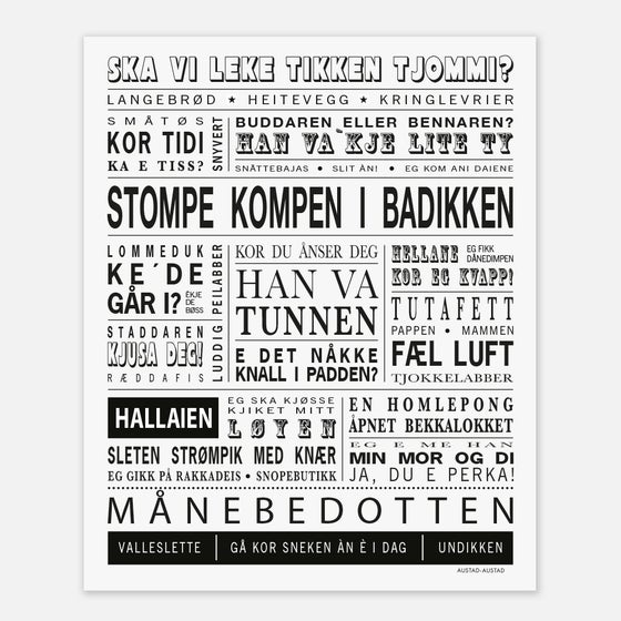 "Image of Hordaland plakat ""Stompe kompen i badikken"""