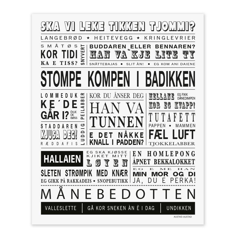 "Image of Hordaland postkort ""Stompe kompen i badikken"""