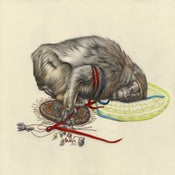 Image of Kirsty Whiten- Lace Monkey- Giclee Print- A2