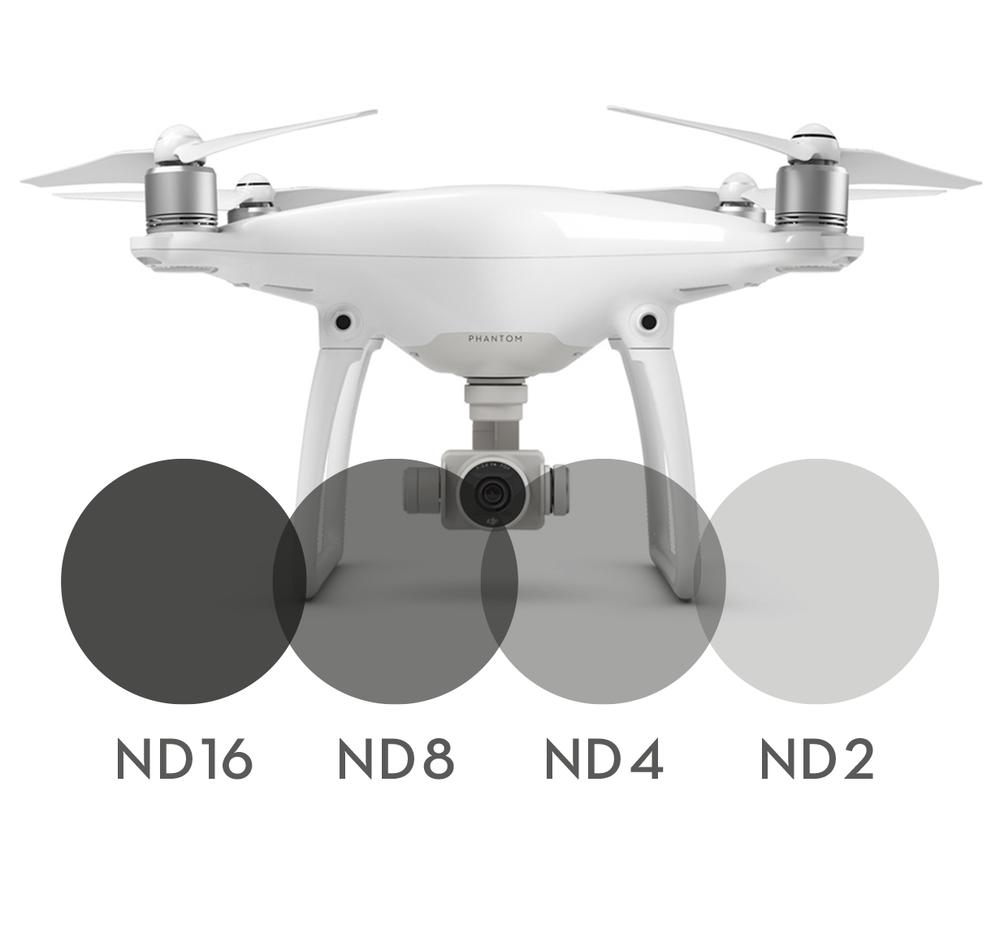 Image of 4-pack Neutral Density filters for DJI Phantom 4