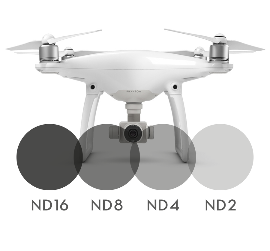 Image of 4-pack Neutral Density filters for DJI Phantom 4