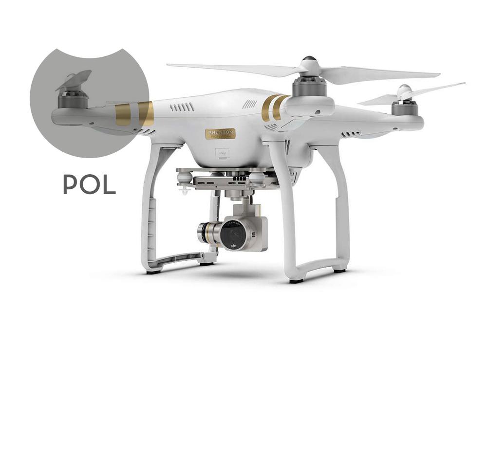 Image of 1 Polarizer (POL) Filter for DJI Phantom 3 Professional/Advanced